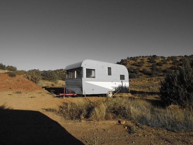 foto van caravan